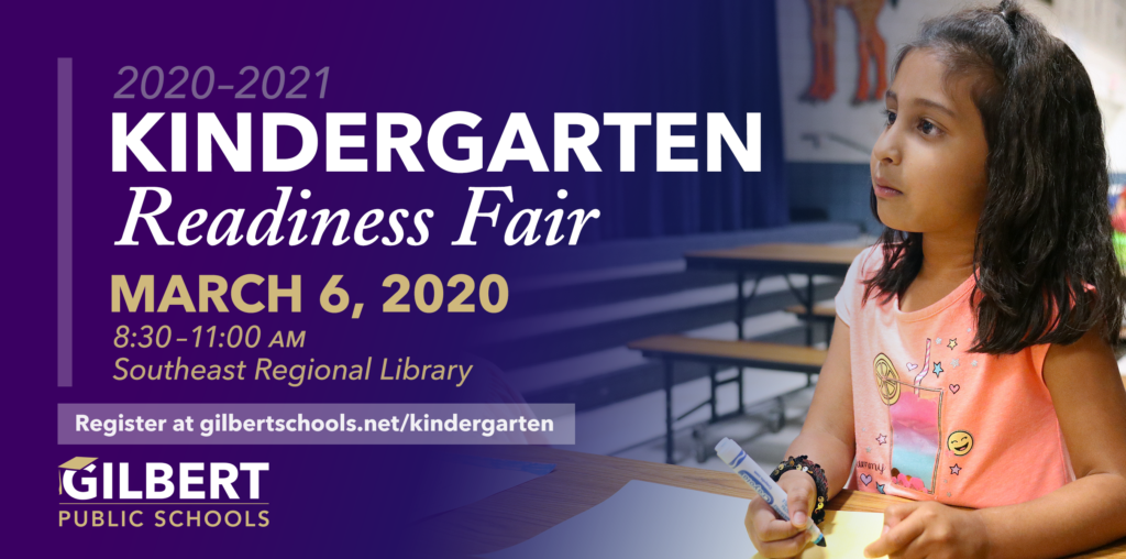 Web Graphic Kindergarten Readiness Fair